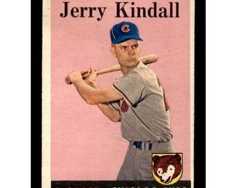 Vintage 1958 Topps #221 Jerry Kindall RC  GD-VG