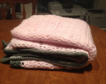 Sweet Squares Baby Blanket