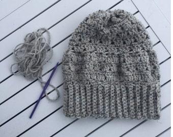 Crochet Cluster Beanie