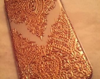 iPhone/Samsung henna inspired phone cases - custom made