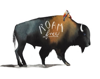Roam Free Bison