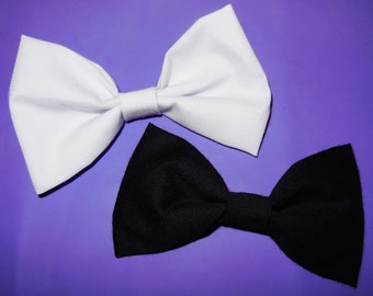 Black & White Bows