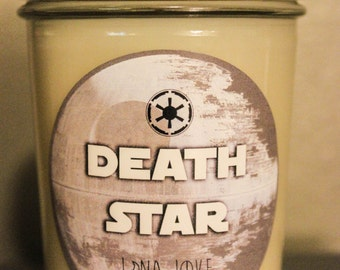 Death Star 100% Soy Star Wars Inspired Candle
