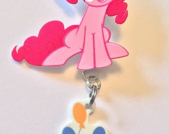 Pinkie Pie pin with cutie mark