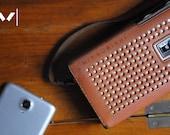 Bluetooth speaker vintage radio retro speaker old radio wireless speaker portable speaker iphone speaker speakerphone bluetooth radio gift