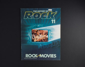 The History of Rock Vol 1 issue 11 Rock at the Movies Elvis Presley, Alan Freed, 50's movies