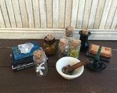 La valeur miniature échelle 1:6 collection #1 de la Wicca