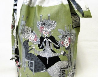 Medium Knitting Project Bag - Ghastlies