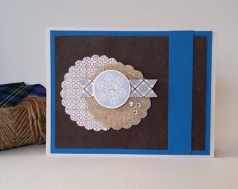 All Occasion Handmade Note Card / Thank You Birthday Just Because