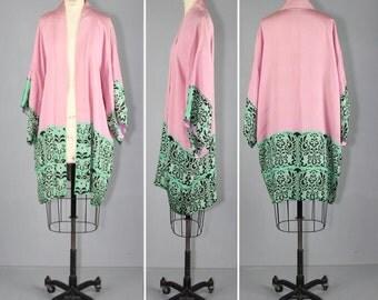 silk robe / 1920s / vintage kimono / ARS POETICA