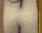 knitting needle SHAWL pin - great gifts for knitters and handweavers.. scarf - sweater or shawl pin - Group 2