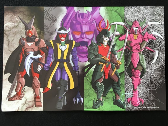 Dark Warlord Poster (Etsy)
