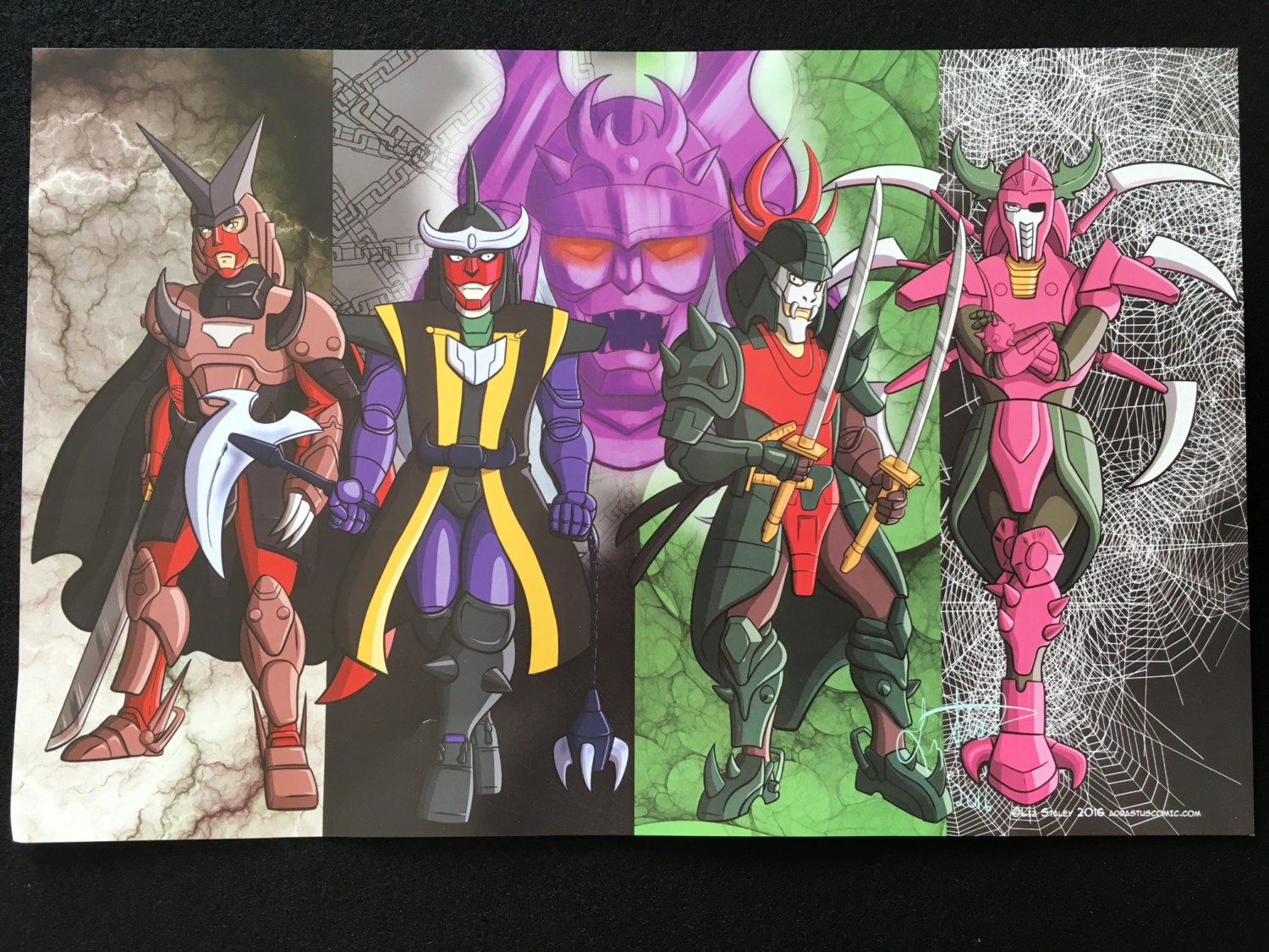 Dark warlords ronin warriors samurai poster 11x17 inches - Ronin warriors warlords ...