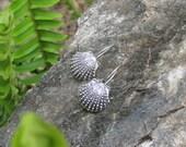Bali sterling silver Seashell Ear Wires Earrings findings Jewelry Supply