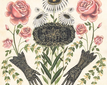 Garden Gloves - Print