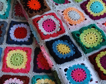 Blanket, throw, afghan, crochet