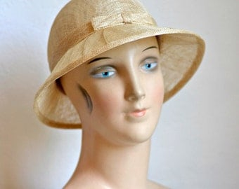 Straw Hat - Women's Hat - Summer Straw Hat - Sinamay Hat