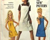Sundress or Jumper A How to Sew Pattern Bust 30.5 Simplicity 7497