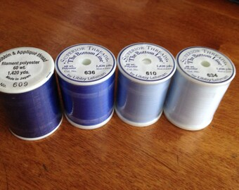 Blue Bottom Line Thread  by Superior Threads - FREE Shipping