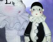 33 - Little Pierrot - Crochet Pattern