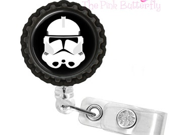 Star Wars Clone Trooper Badge Reel