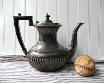 Vintage Sheffield Silverplate teapot coffee pot Winchester English Regency style England silver plate coffeepot tea pot