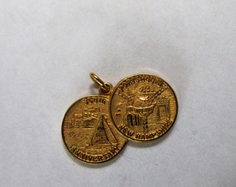 Portsmouth New Hampshire N.H. 350th Anniversary PENDANT