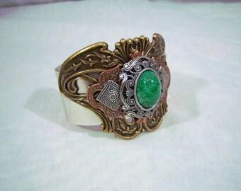 Irish Emerald Cuff