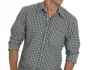 Men's Button-Down Shirts McCalls M6044 - Men's Shirt with Front Variations - Sizes:  (34/36) -(38/40) -(42/44) or (46/48) -(50/52) - (54/56)
