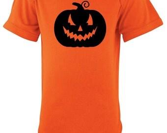 Halloween Pumpkin Shirt for Babies - Bodysuit, Gender Neutral