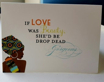 Note cards, Blank note cards, Greeting cards, Blank greeting cards, African cards, Thank you cards, Birthday Cards, African note cards, Love