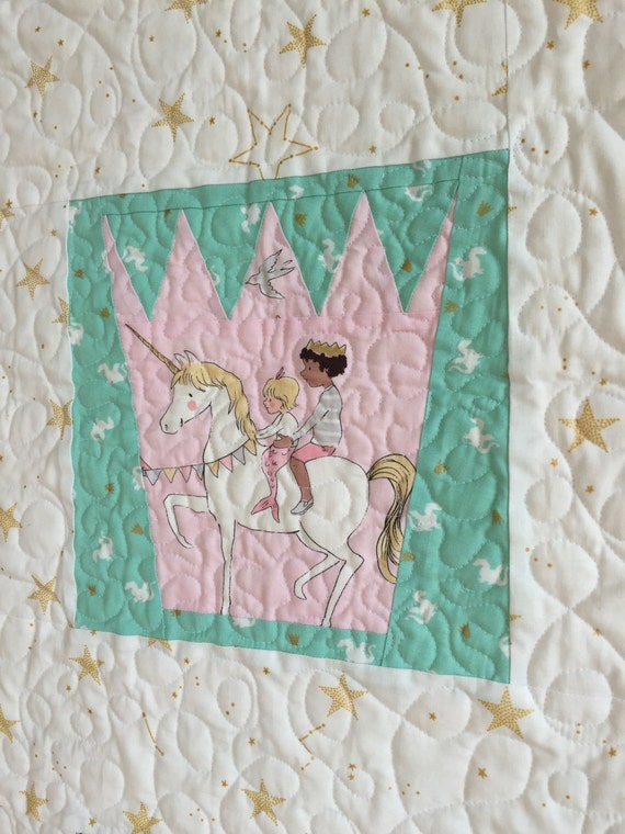 Land of Magic Crown and Star PDF Paper Piecing Pattern