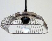 Arachnid pendant light - plug-in or hardwire - choice of bulb
