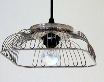Arachnid pendant light - plug-in or hardwire - choice of bulb