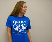 Graphic Tee, Mothers Day gift, Adopt, animal rescue, cat shirt, dog shirt, dog, cat, plus size, mens shirt, women shirt, for the volunteer