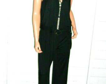 Venus Black Jumpsuit XL