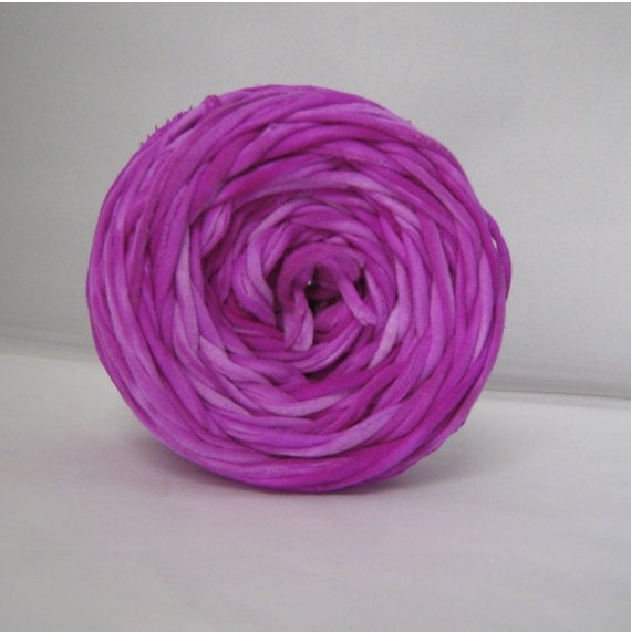 T shirt yarn hand dyed marbled neon purple 60 yards for T shirt printing st charles mo