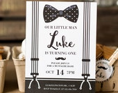 Mustache Invite, Mustache Invitation, Mustache Party, Little Man Invite, Little Man Invitation, Little Man Birthday