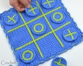 Crochet pattern travel tic-tac-toe game board road trip crochet travel game pattern for boys, girls, kids, family funINSTANT pdf DOWNLOAD
