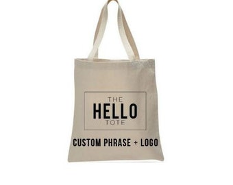 Tote Bag Upgrade | Phrase, Quote or Logo