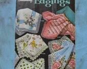 RESERVED for SG *Vintage 1955 Handkerchief Edgings Coats & Clark's ONT Crochet Tatting