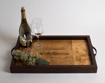 Cakebread Cellars Wine Crate Tray