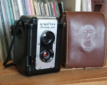 1940's Argus Argoflex Seventy-Five Camera with Field Case