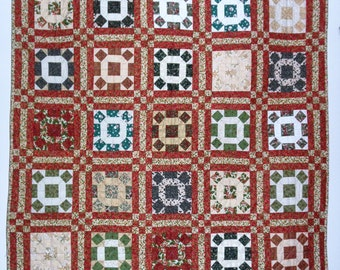 The Gettysburg Square Holiday Quilt