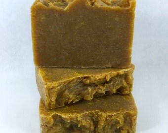 CLEARANCE! PUMPKIN SPICE Soap, Real Spices, 4.5oz