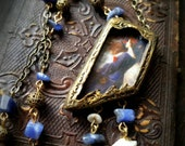 Miranda ~ John William Waterhouse ~ Pictorial Amulet Necklace