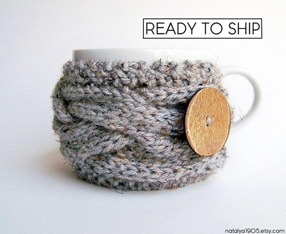 Coffee Cup Sleeve, Coffee Cozy Tea Cozy Gifts Under 20 Coffee Mug Cozy Knit Cup Cozy Coffee Sleeve Coffee Mug Sleeve, STOCKING STUFFER