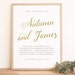 Instant DOWNLOAD Wedding Welcome Sign Template - Romantic Script - Word or Pages MAC and PC - 18x24 or 24x36 - Editable Colors