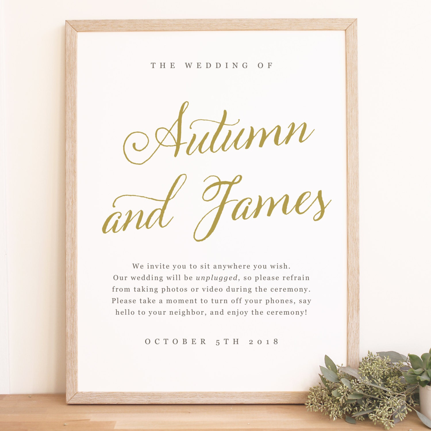 instant download wedding welcome sign template romantic script word or pages mac and pc. Black Bedroom Furniture Sets. Home Design Ideas