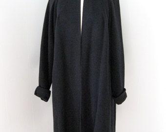 25 per cent off. Coupon code HOLIDAYHAPPINESS2.Vintage 1950s Country Tweeds Cashmere Cape Coat. S-M. El Elegant Cashmere